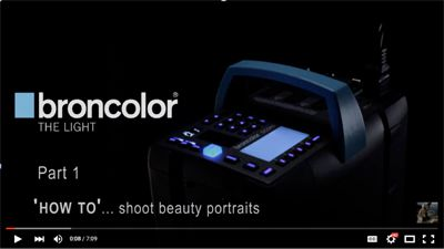 Broncolor YouTube Tutorials Lighting Fashion Shots
