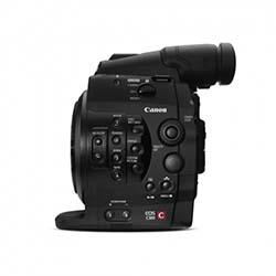 Canon C300 EF - 50 Mbps 4-2-2 Capture, Super 35, MXF Format