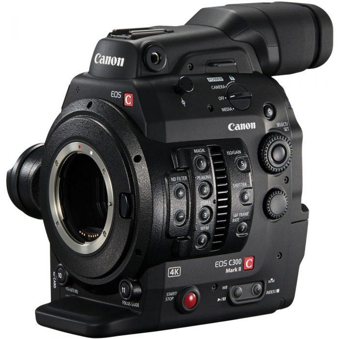 Canon C300 MKII EF Cinema EOS w/ Dual Pixel CMOS AF