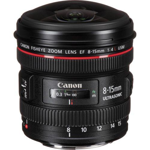 Canon Fisheye Lens EF 8-15mm f/4L