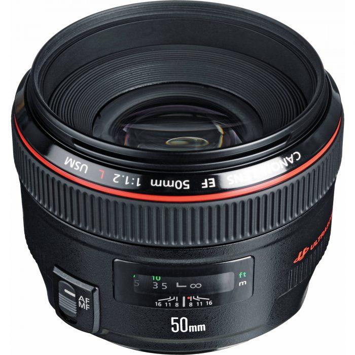 Canon Prime Lens EF 50mm f/1.2L