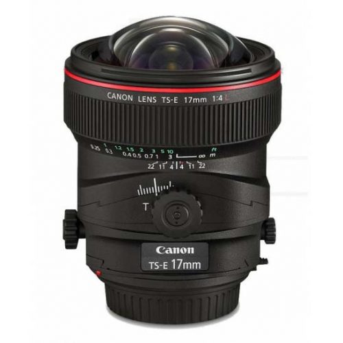 Canon TS-E 17mm f/4.0L Tilt Shift Lens
