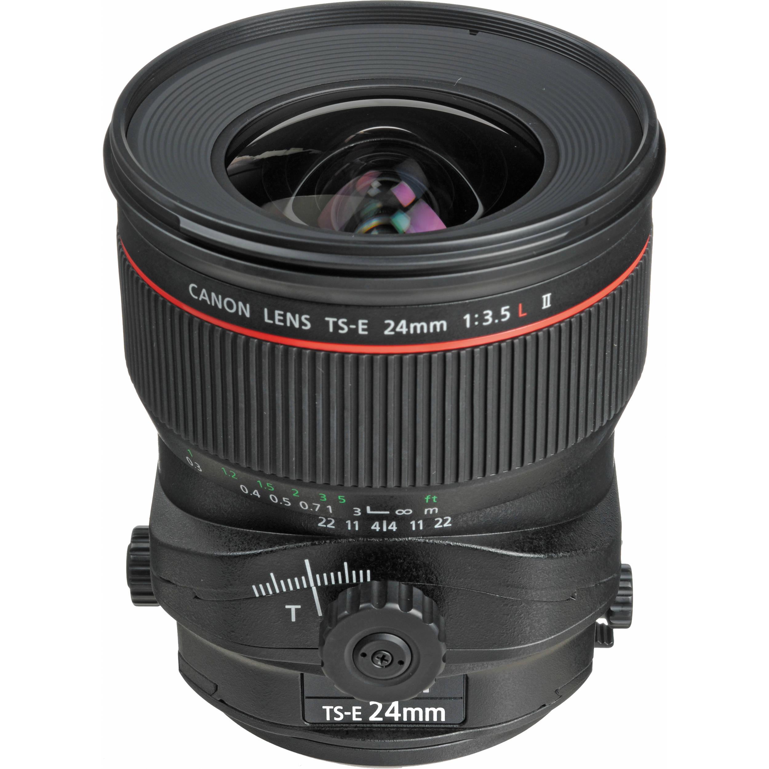 Canon TS-E 24mm f/3.5L II Tilt Shift Lens
