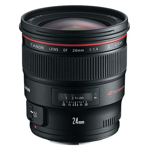 Canon Wide Angle Lens EF 24mm f/1.4L