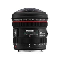 EF 8-15mm f/4L Fisheye Wide Angle Lens Rentals