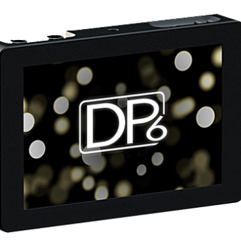 Small HD DP6 Monitor (HDM/SDI w/ Shade, Mount and Cables)