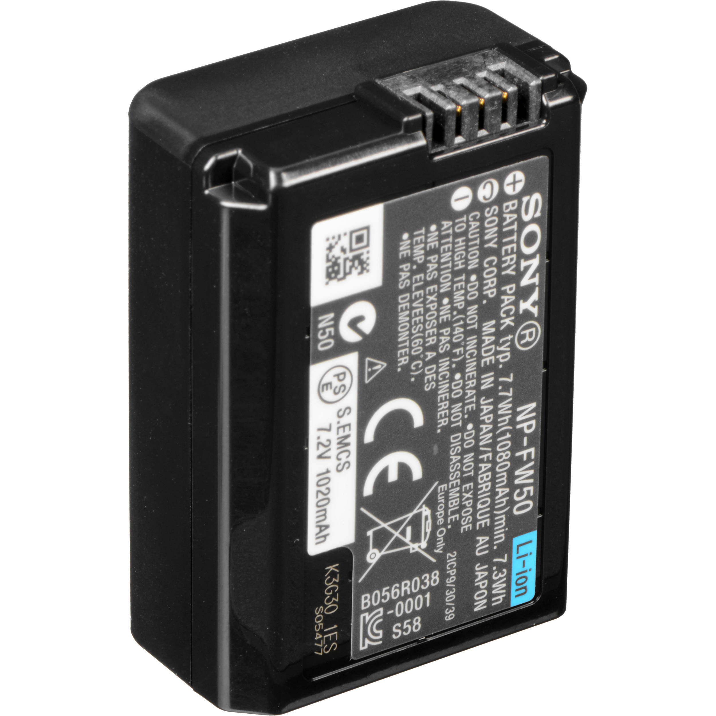 Sony A7 Series NP-FW50 Battery