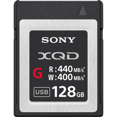 Sony XQD 128GB 400MB/s Card