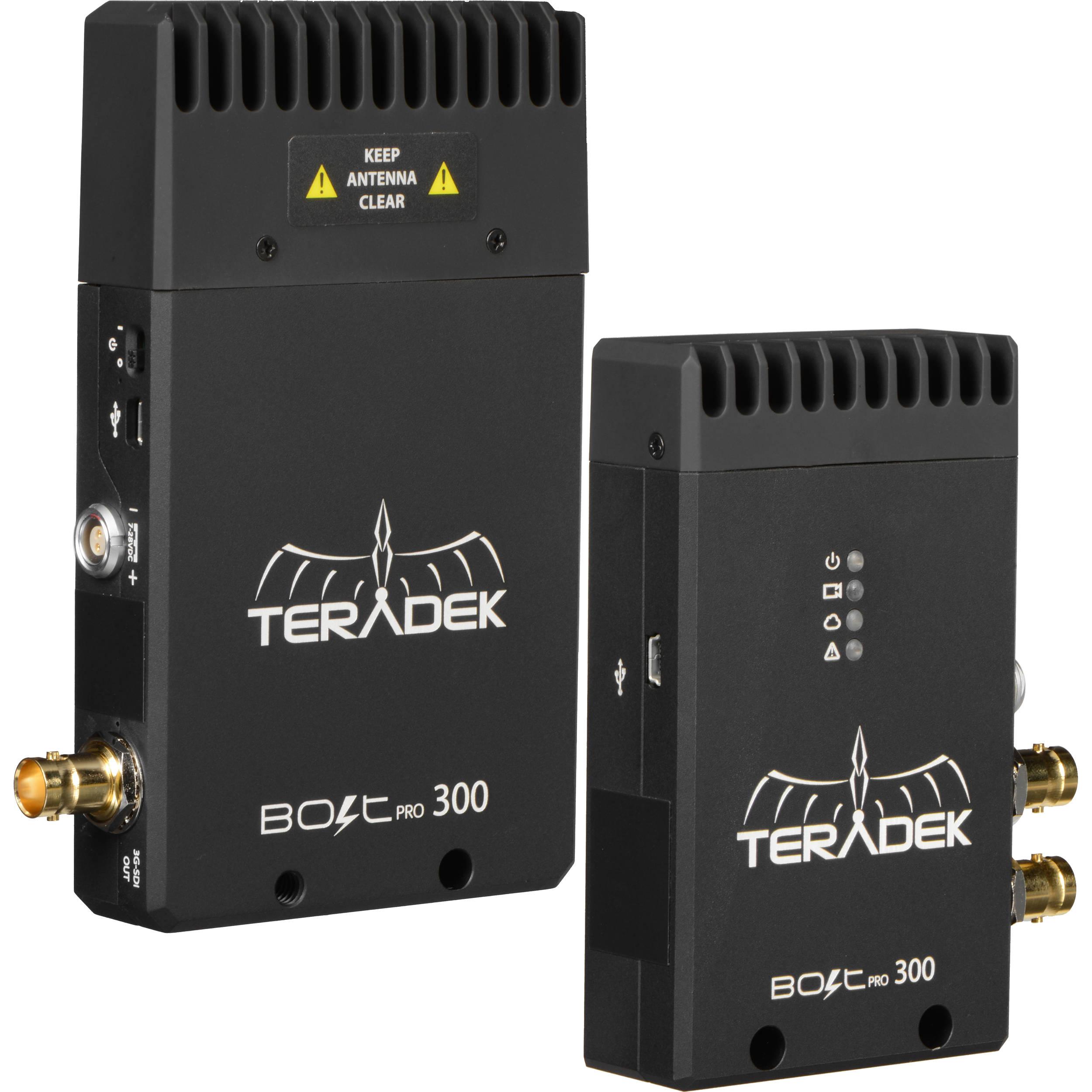 Teradek Bolt Pro Wireless SDI Video Transmission system