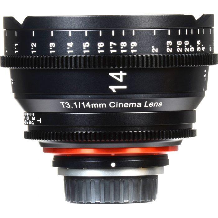 Xeen Cine Lens 14mm Sony E-Mount