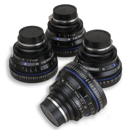Zeiss CP.2 4-Lens Kit EF-Mount