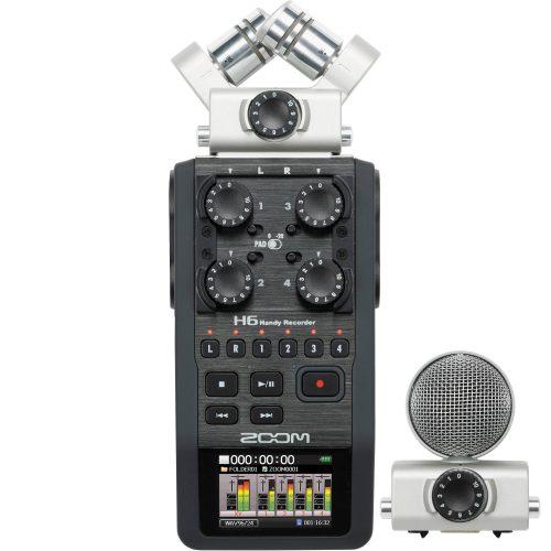 Zoom H6 Portable Handheld Recorder