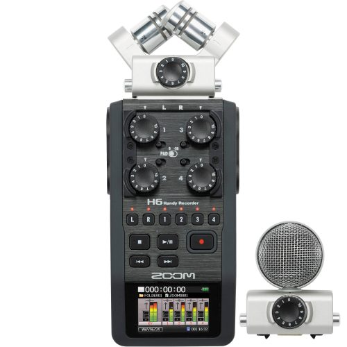 Zoom H6 Portable Handheld Recorder