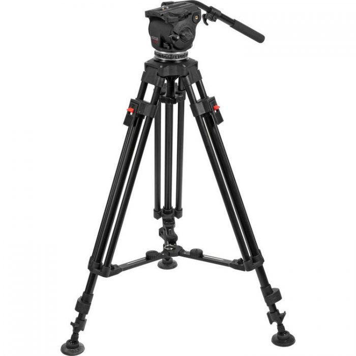 Cartoni Focus HD Fluid Head with Legs