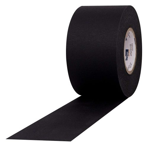 2″ Shurtape Matte Black Photo Tape