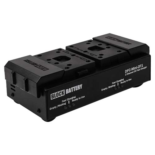 Block Battery Dual Charger Rental