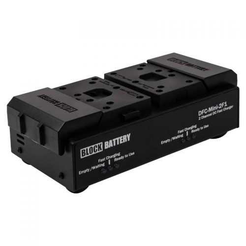 Block Battery Single Charger for 2F1 Batteries Rental