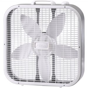 Box fan (standard window fan)