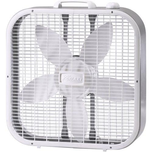 Box fan (standard window fan)