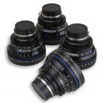 Zeiss CP.2 Lens Rentals 4-Lens Kit EF-Mount
