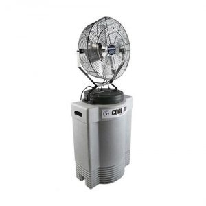 CoolDraft Misting fan (comes with 10 gal. cooler and dolly)