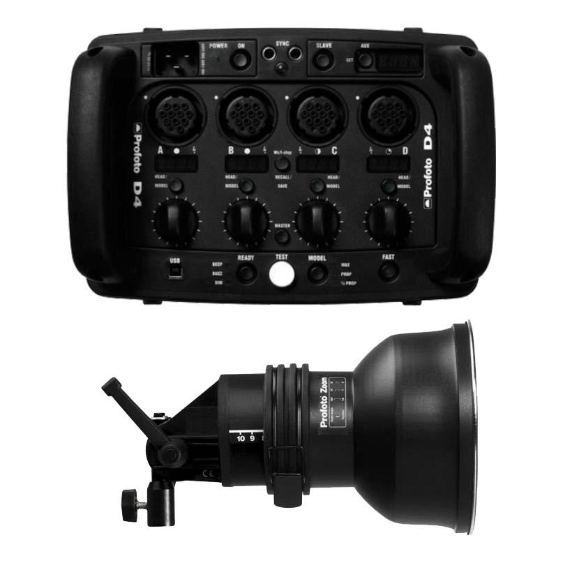 D4 2400R with 1 Acute Head
