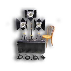 Lowel 3 1000W DP Kit