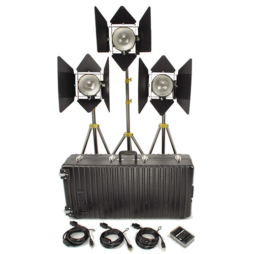 Lowel 3 1000W DP Kit Rental