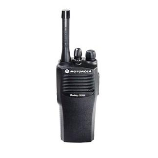 Motorola CP200 2-Way Radio (Walkie Talkie) w/ Speaker Mic