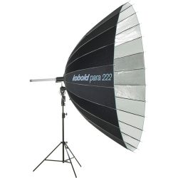 "Para 222 P Reflector w/ Focus Rod & Head Adapter (7'4"" Diameter)"