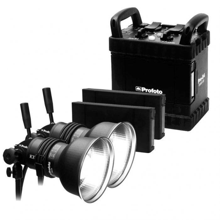 Profoto B4 Air 1000 2-Head Kit