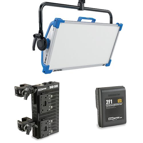 Arri Skypanel S60-C with Block Battery Kit