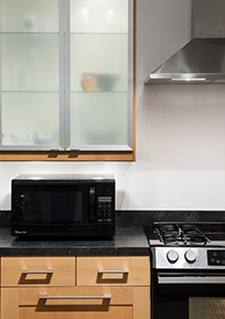 2408 Converse Kitchen Microwave