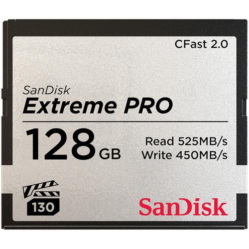 SanDisk CFast 2.0 128GB Card