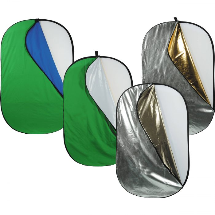 "42""x72"" 7-in-1 Pop-Up Reflector/Background"
