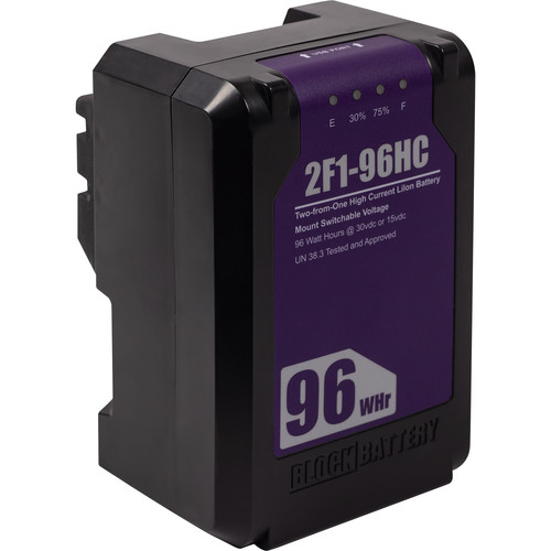 block li96 battery rental