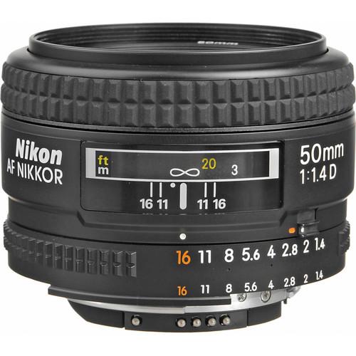 Nikon 50mm 1:1.4D Lens