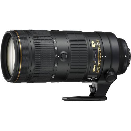 Nikon AF-S Nikkor 70-200mm lens