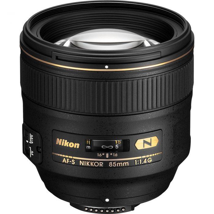 Nikon Nikkor 85mm lens