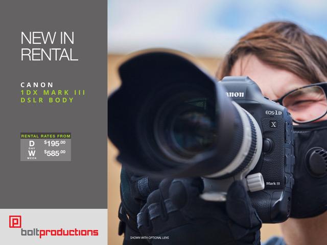 Canon 1D X Mark III Promo